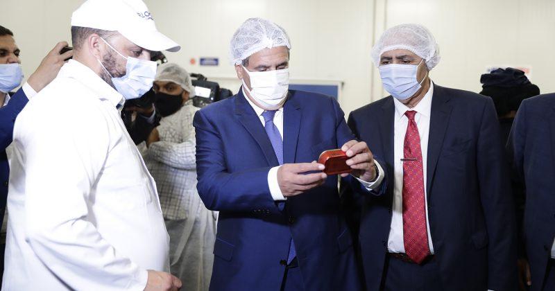 أخنوش يدشن أربع وحدات صناعية لتثمين المنتجات البحرية باستثمار يناهر مليار درهم بالداخلة