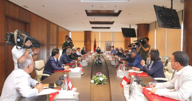 في اجتماع لبحث تطورات الأزمة السياسية بين المغرب وإسبانيا.. أمناء عامون للأحزاب يجددون دعمهم المتواصل لمواقف المغرب