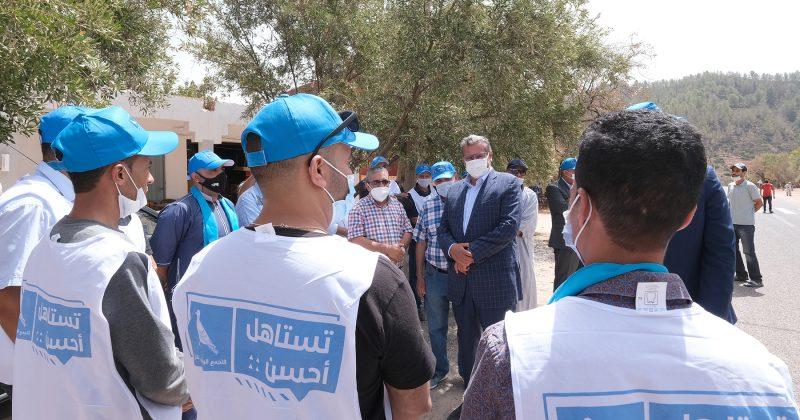 التجمع الوطني للأحرار يعطي إنطلاقة حملته الانتخابية من مدينة أكادير