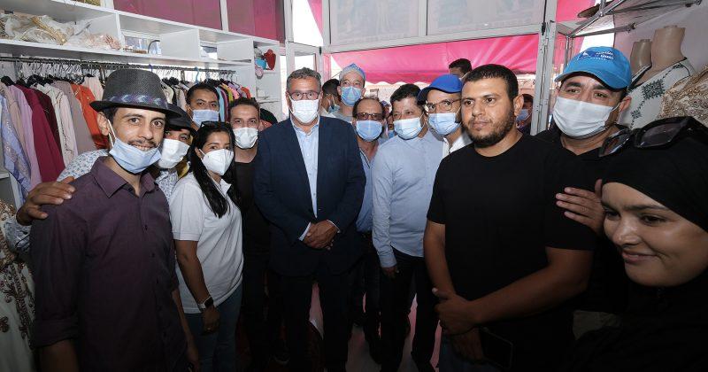 """أخنوش يواصل حملة """"الأحرار"""" من جهة مراكش آسفي ويؤكد على ضرورة تثمين الإمكان البشري من خلال ولوج الخدمات الأساسية"""
