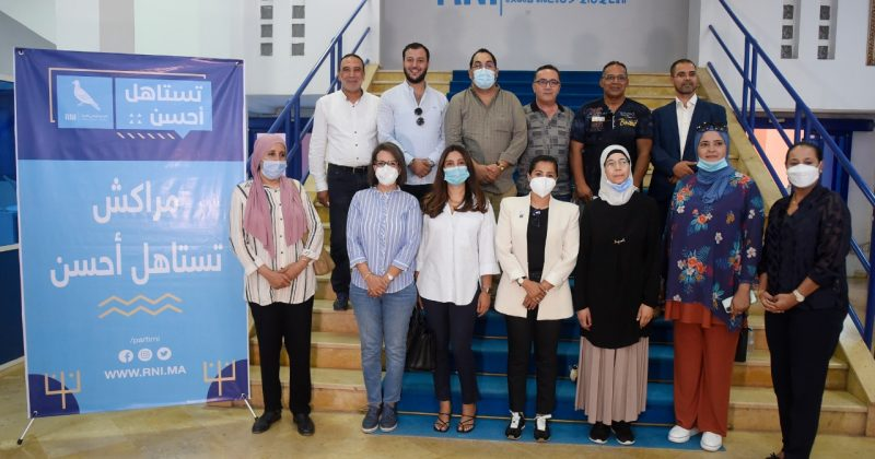 التجمع الوطني للأحرار يقدم وكلاء اللوائح الانتخابية بمدينة مراكش